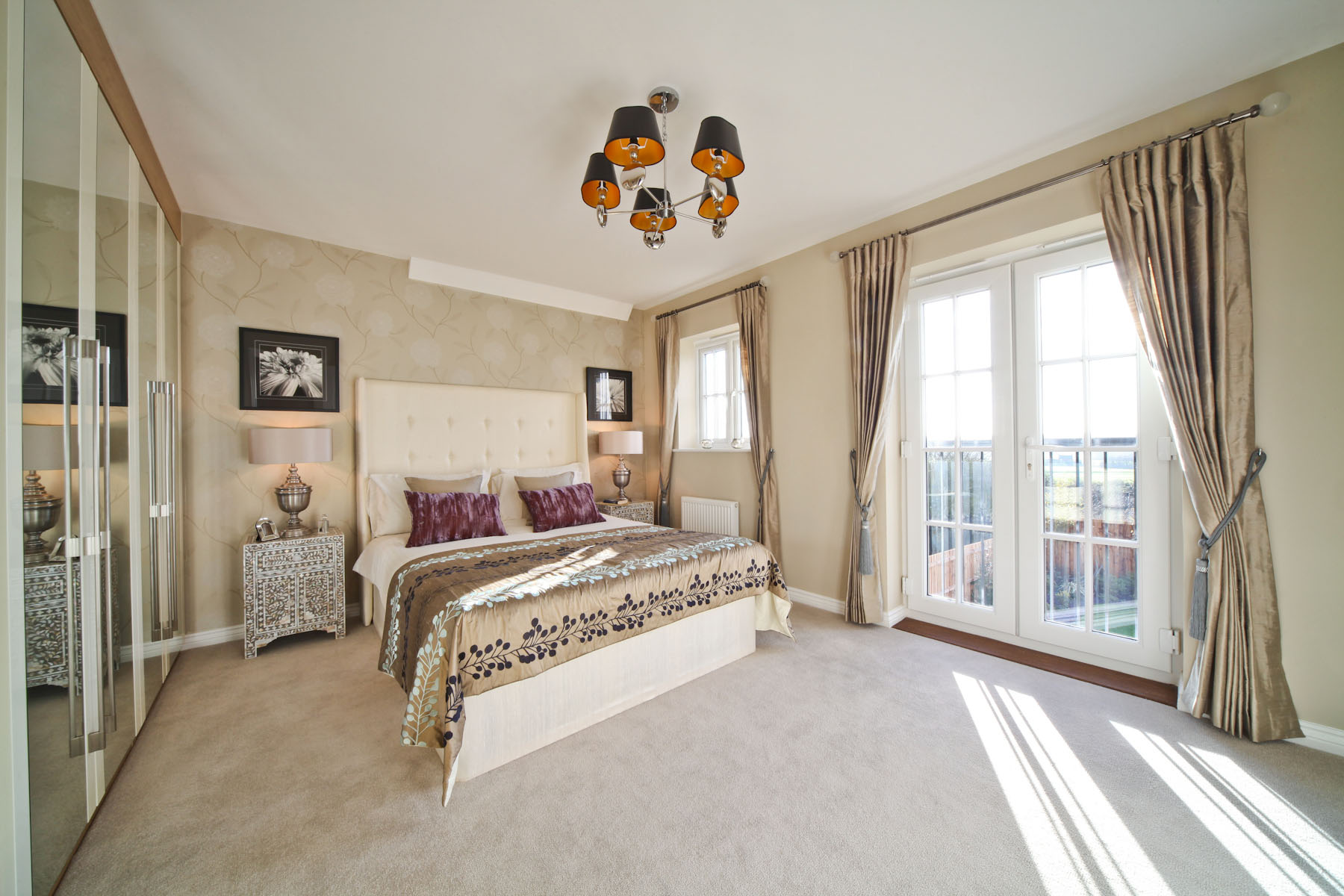 Taylor Wimpey typical master bedroom