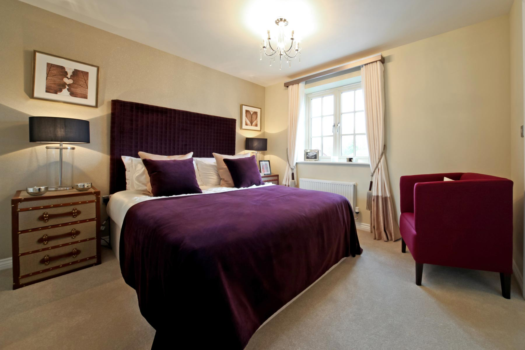 Taylor Wimpey typical second bedroom