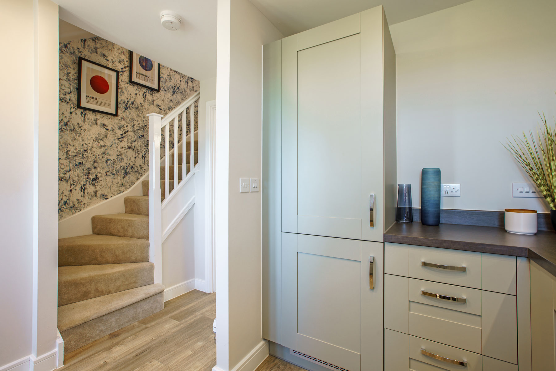 Canford Hallway and Kitchen