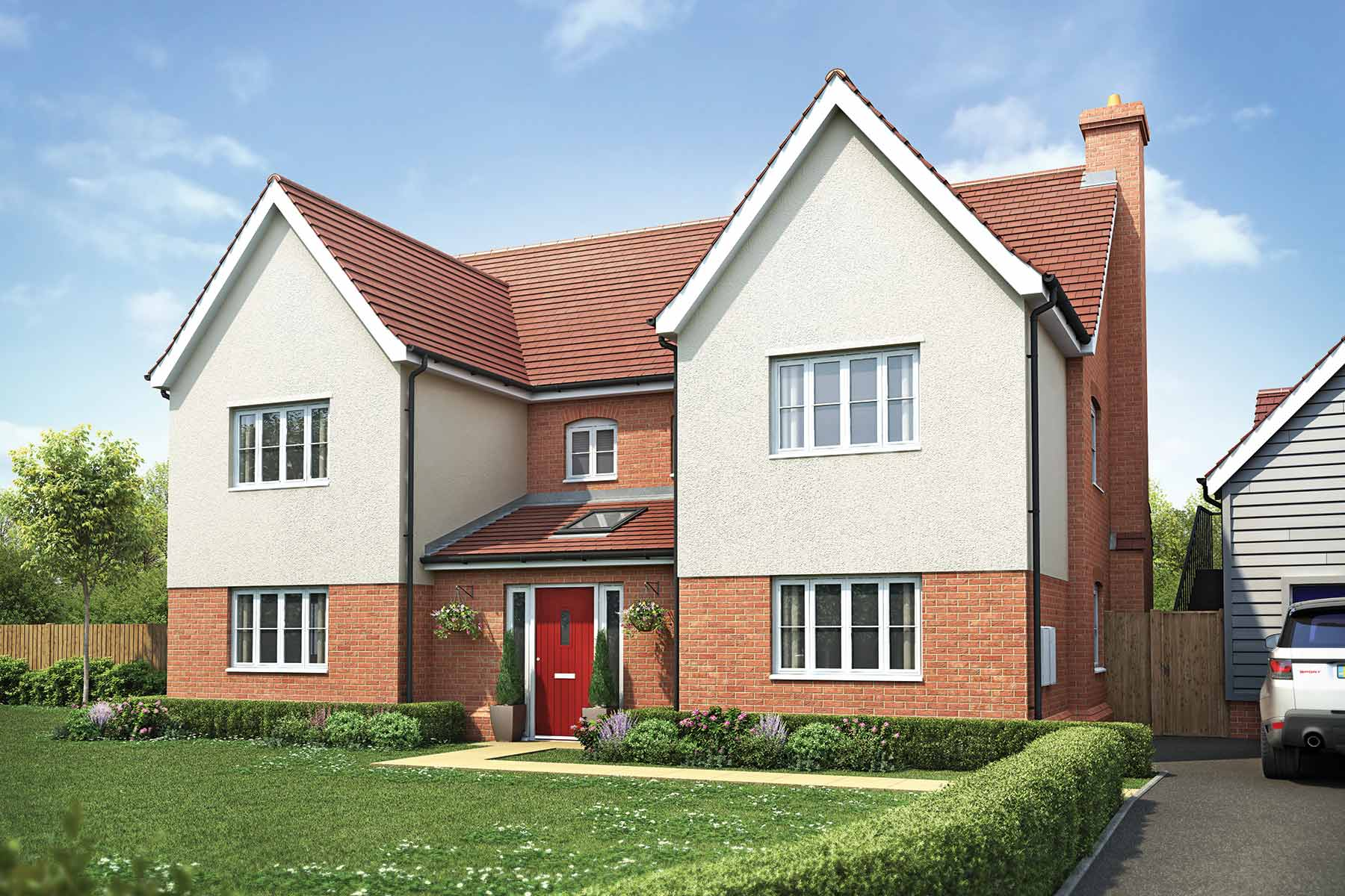 The Barker, Taylor Wimpey at Olstead Grange, Felsted, Essex