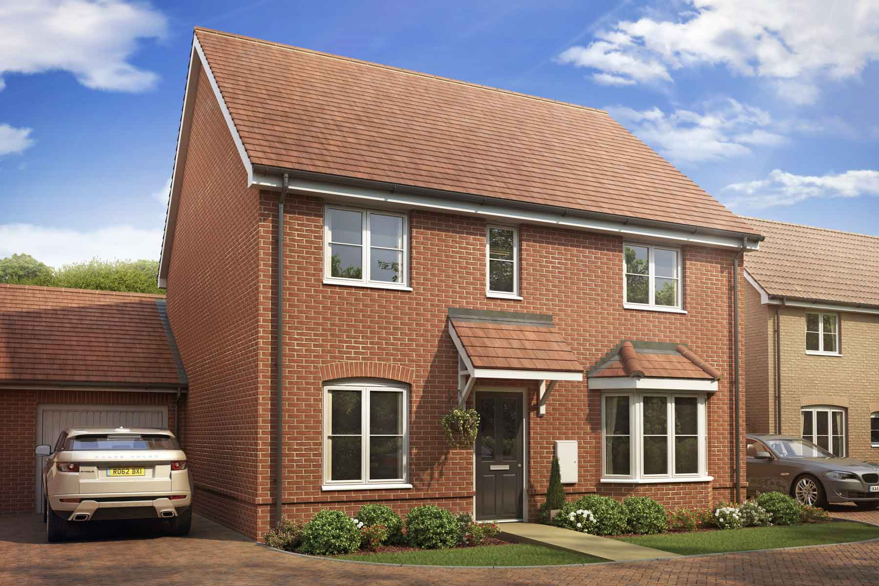 Artist impression of The Shelford, Staunton Gate