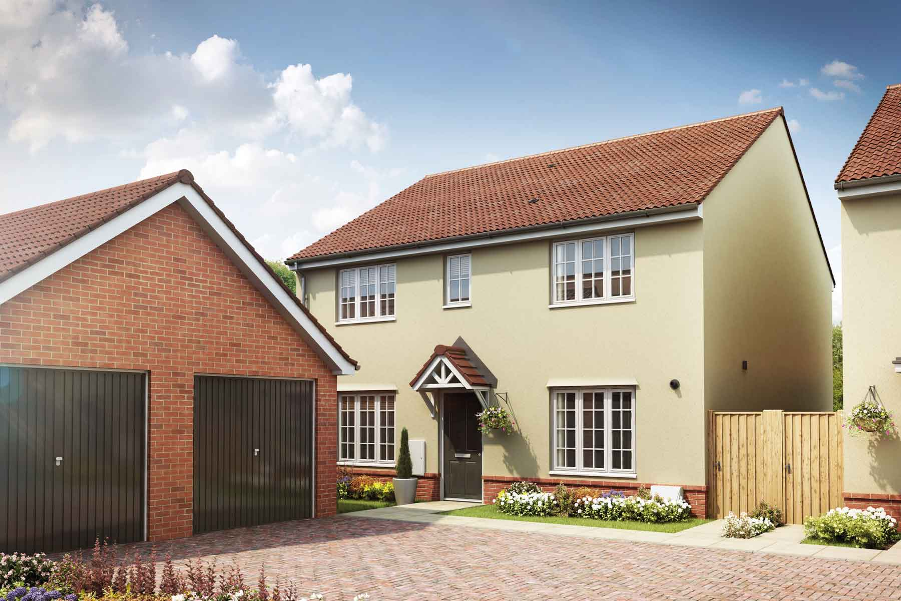 Artist impression of The Thornford