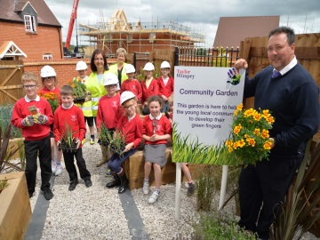 1 Taylor Wimpey  Earls Manor  Brackley Junior School Gardening Lesson  web