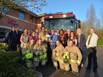 EM - Taylor Wimpey - Fire Fighters Charity Donation - Website Stories