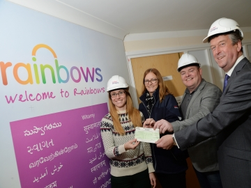 EM - Taylor Wimpey - Rainbow Hospice Donation