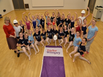 Taylor Wimpey - English Youth Ballet Donation WEB