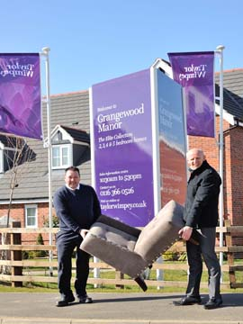 wTWEM - Taylor Wimpey - Grangewood Manor - Deano and Ian