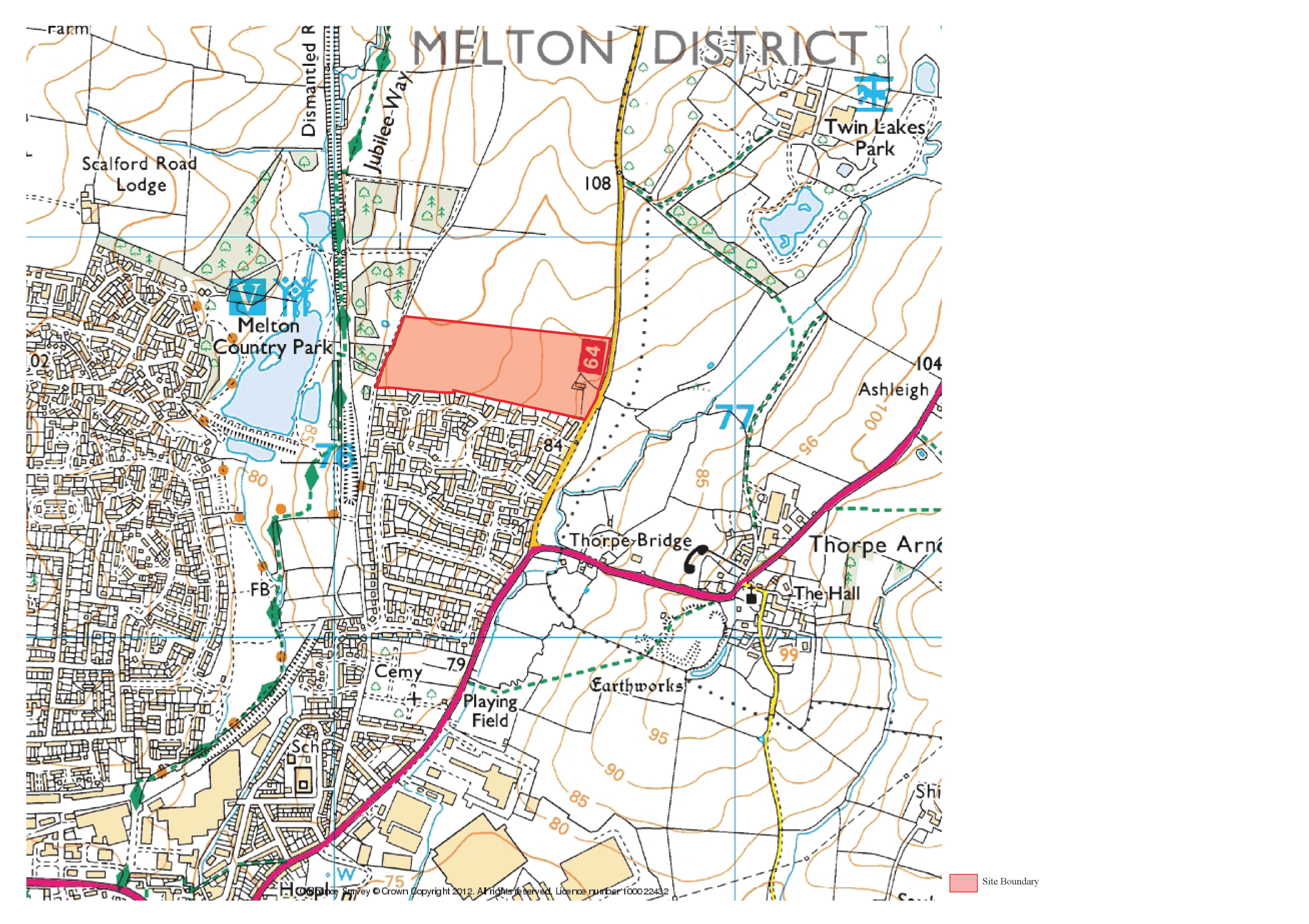 Melton Updated Red Line Boundary 19-9-14
