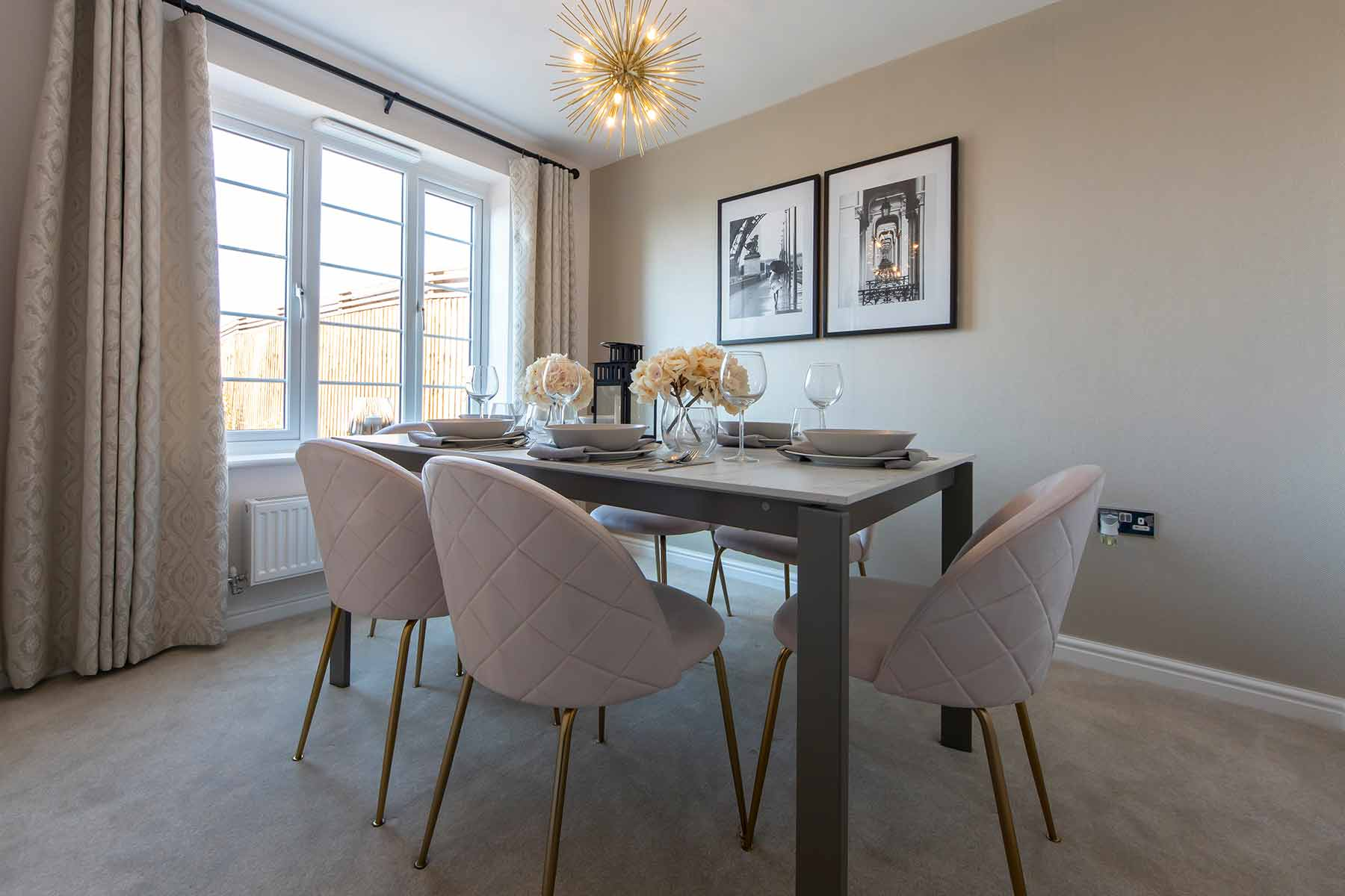 Dining room Aldenham-3bedroom-showhome_04