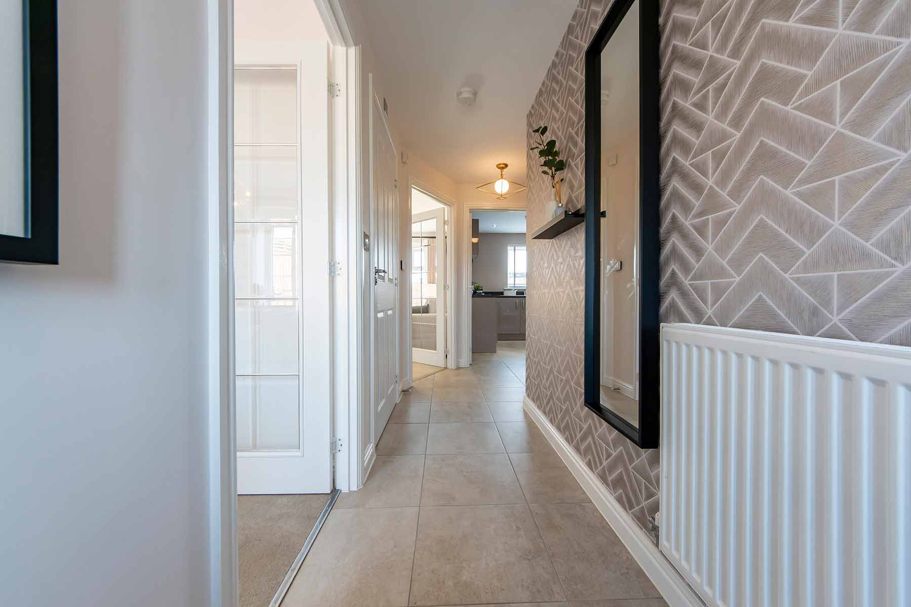 Hallway Aldenham-3bedroom-showhome_03