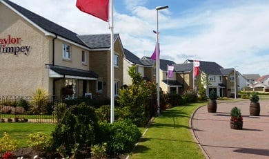 Taylor Wimpey East Scotland - typical street scene