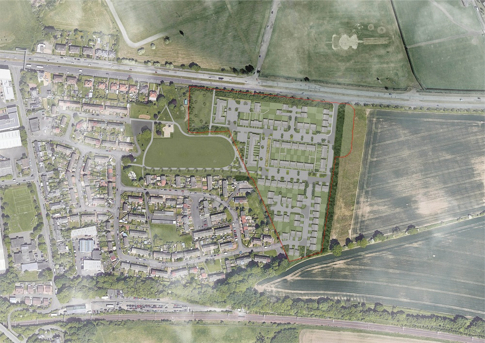 Lauder Grove proposed development layout