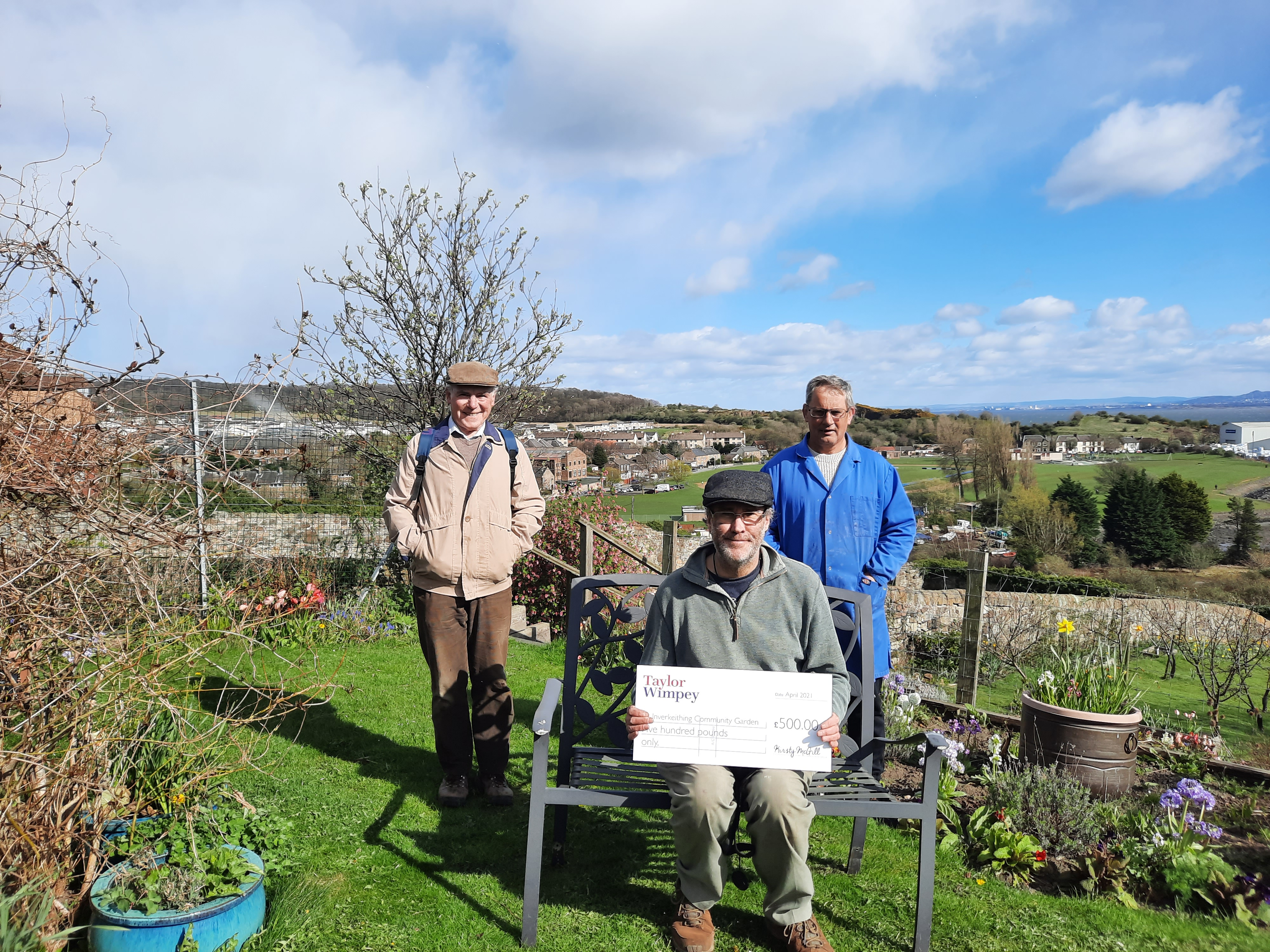 Spencer Fields Inverkeithing Community Garden 2021