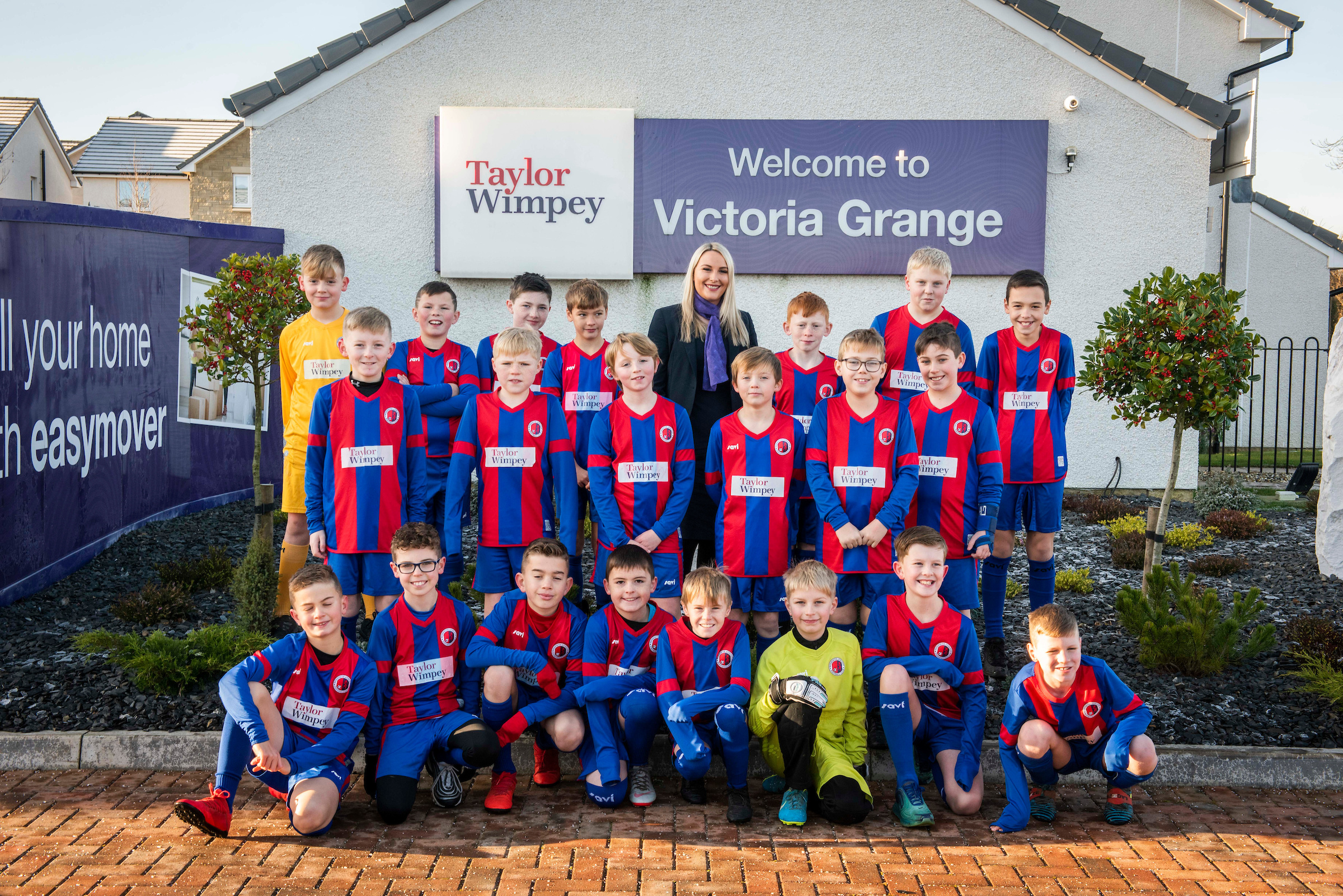Victoria Grange Local Football Team 1