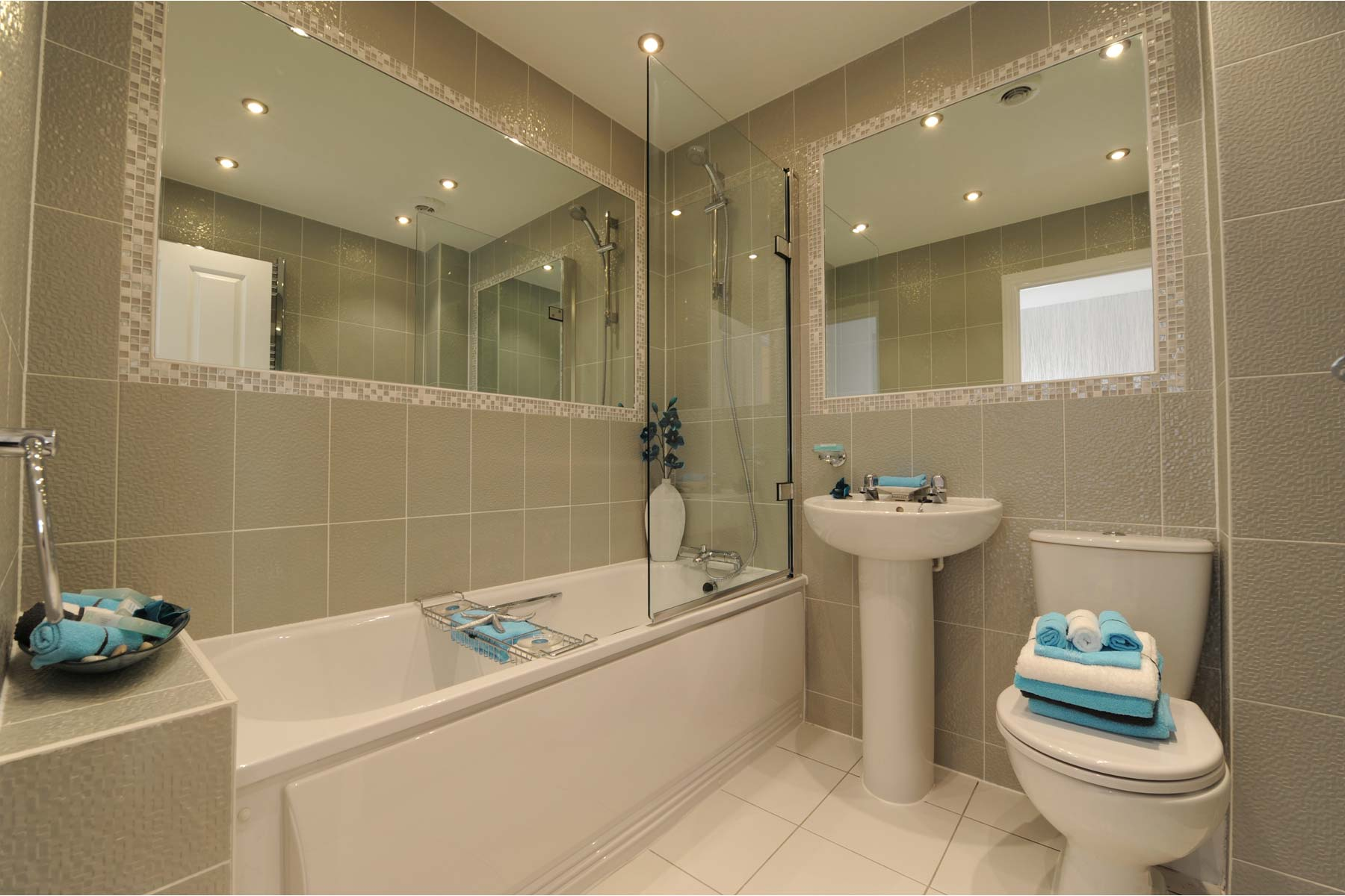 Example bathroom - 2 bed