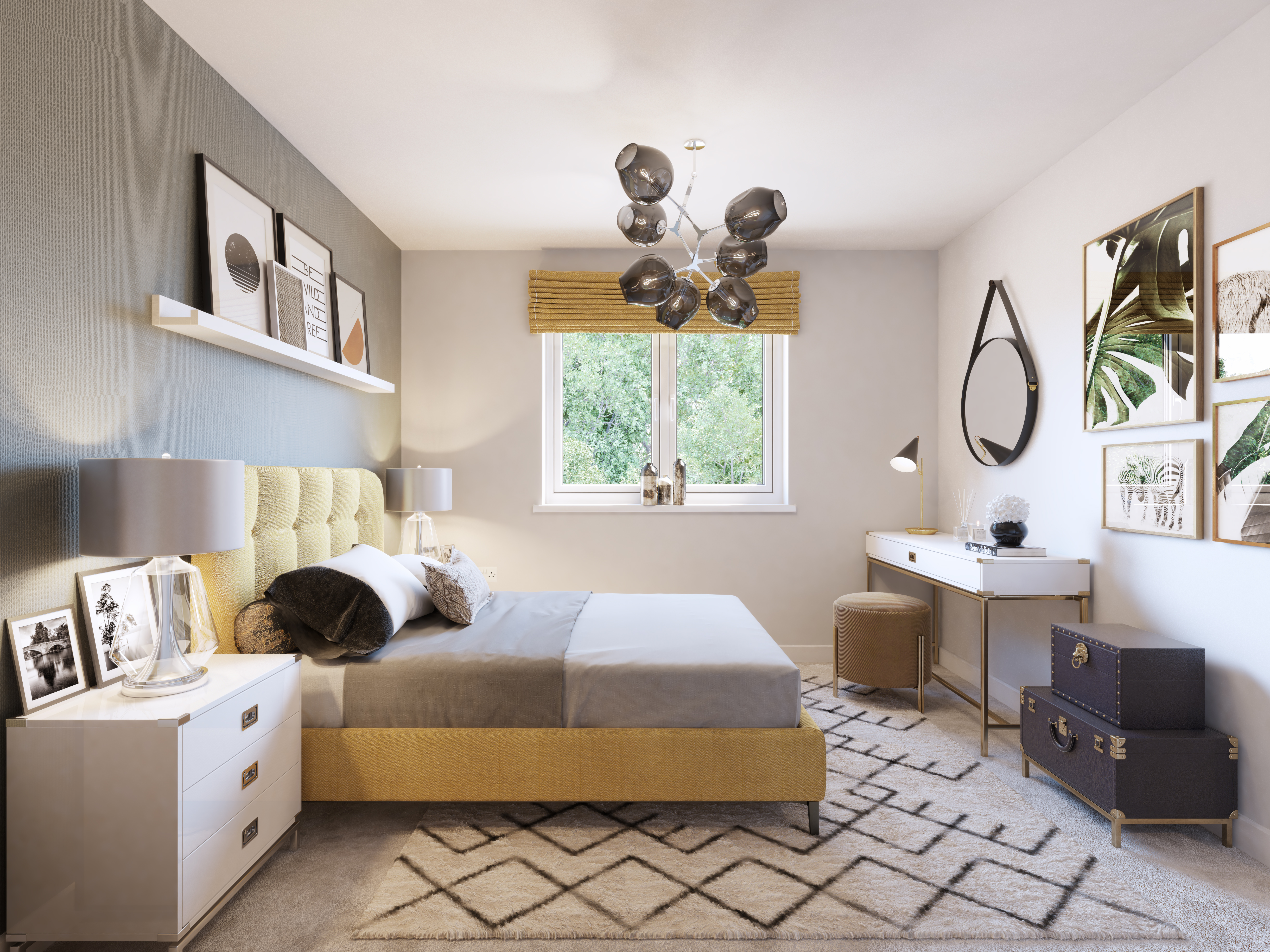 The Dunlop CGI - Bedroom 2