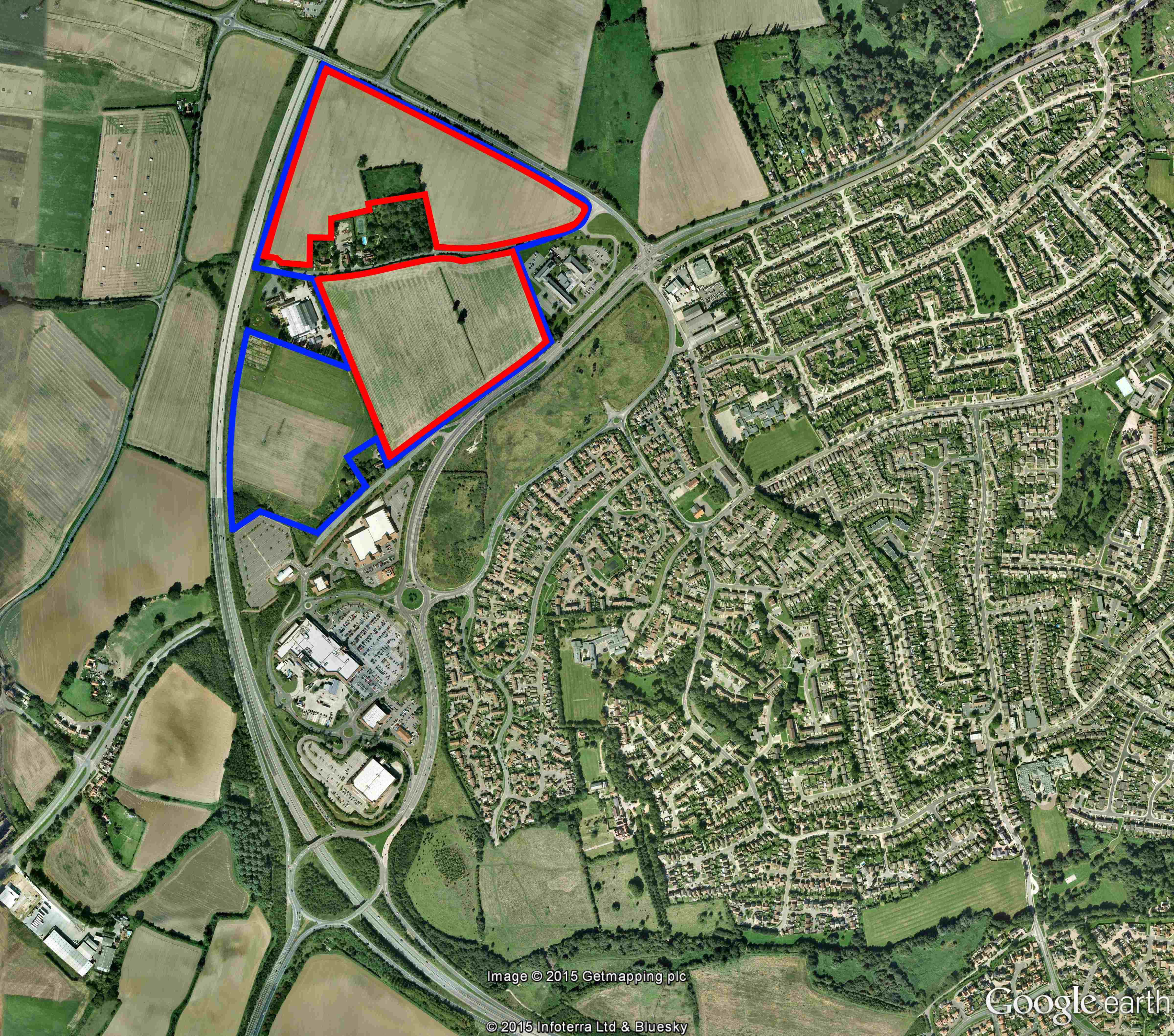 Wolsey Grange Location Plan