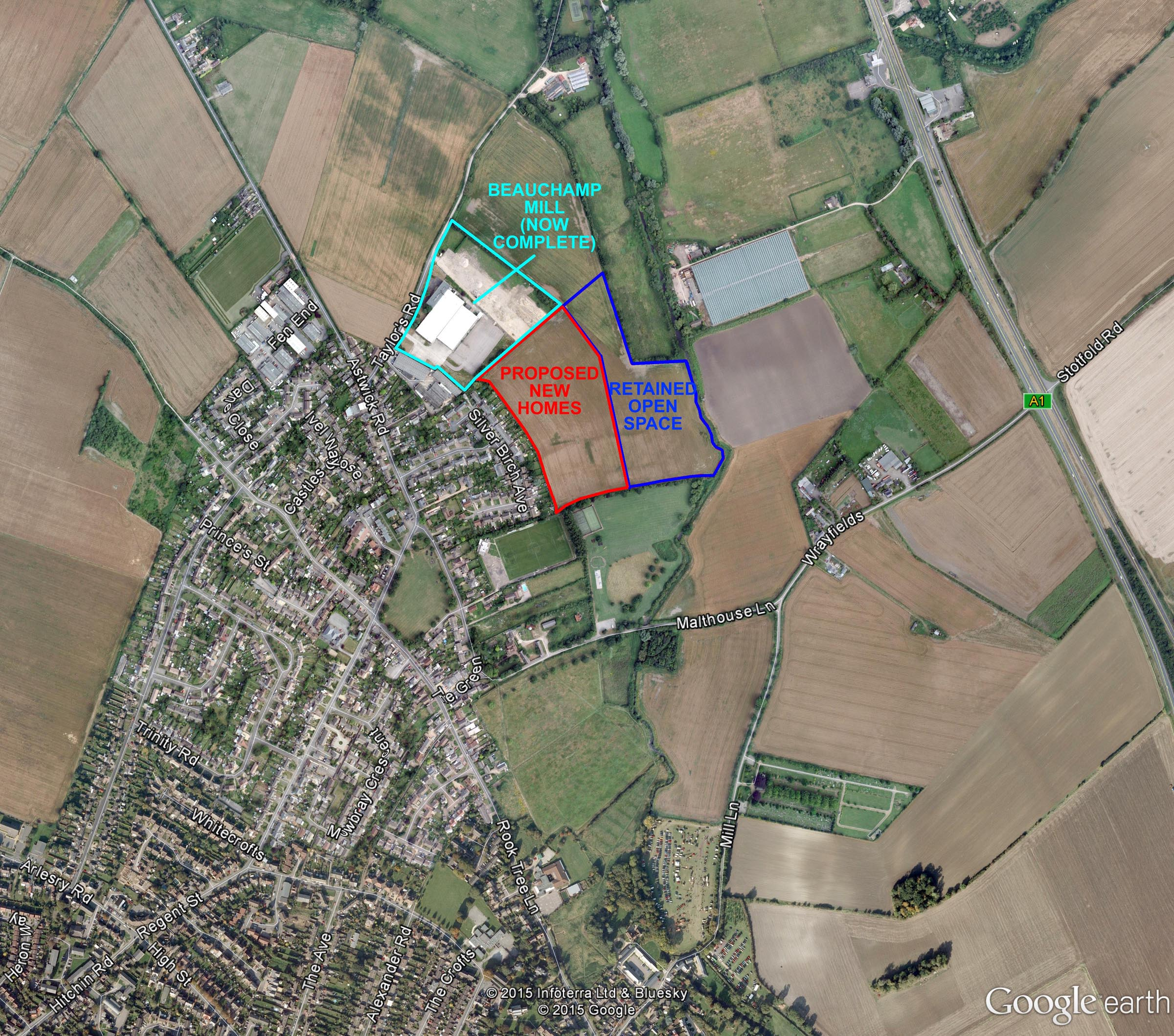 Stotfold Location Plan Web