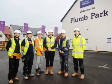 NEWS TWEX - Plumb park apprentices