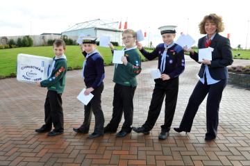 Taylor Wimpey Exeter - Scouts Christmas Postal Service - 1
