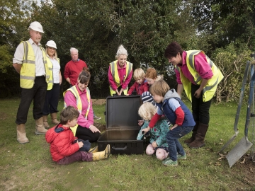 WEB Pengelly Meadows - Time Capsule Burial