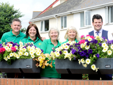 We helped to make Exmouth blooming beautiful