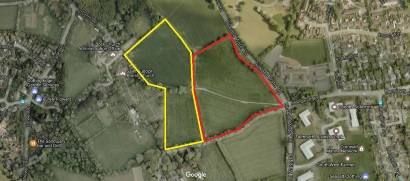 Bickland Water Road Falmouth - Satelitte Plan