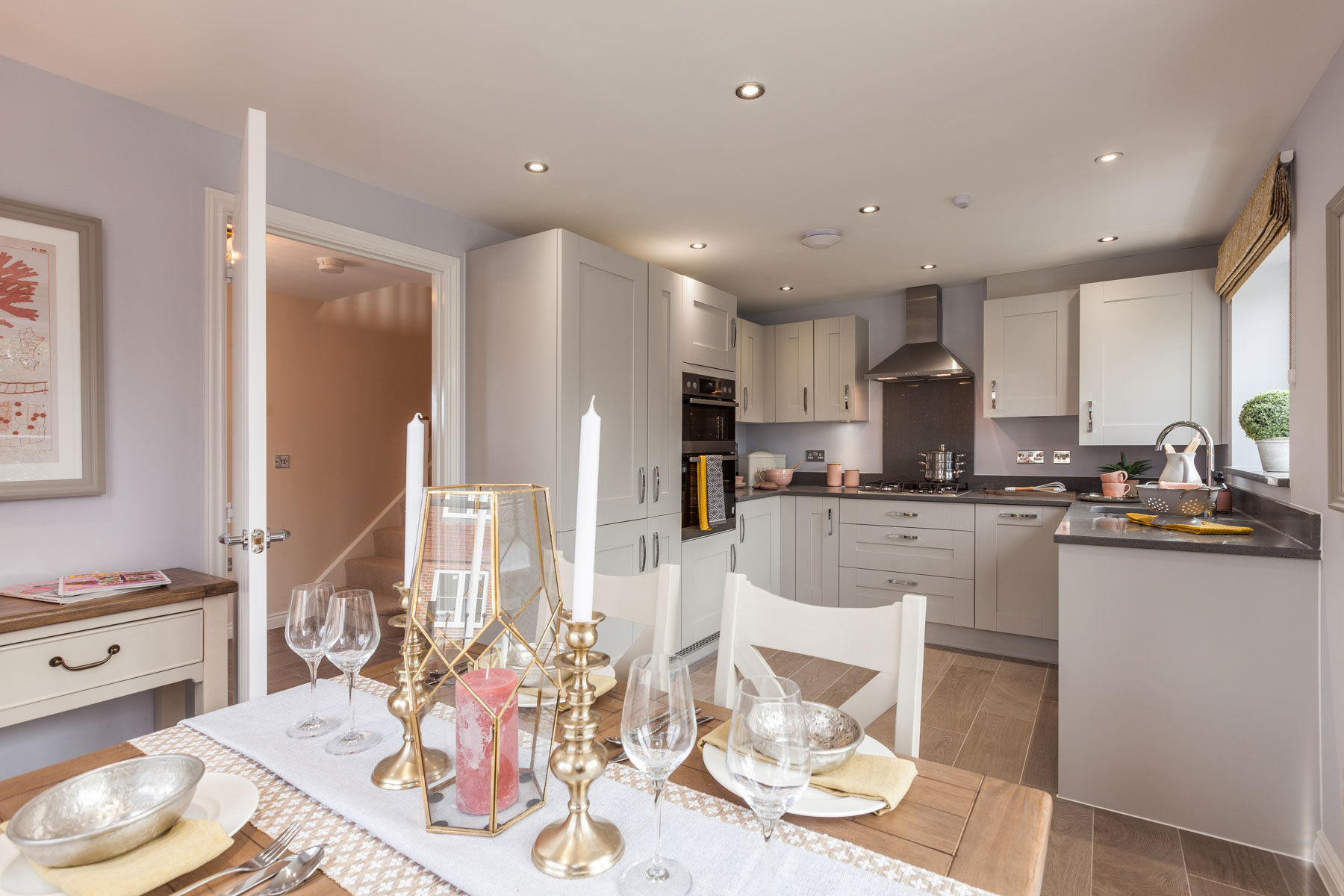 Taylor Wimpey Exeter - Buckingham Heights - Easdale example kitchen 2