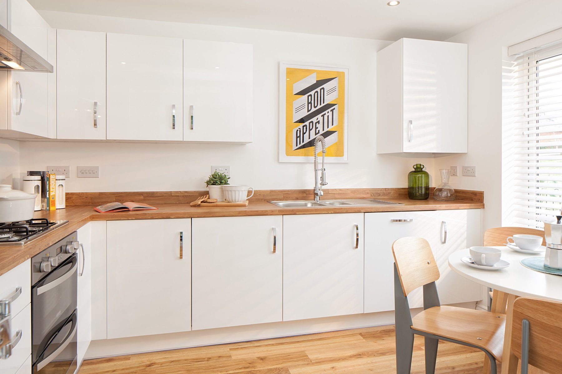 TW Exeter - Buckingham Heights - Flatford example kitchen 2