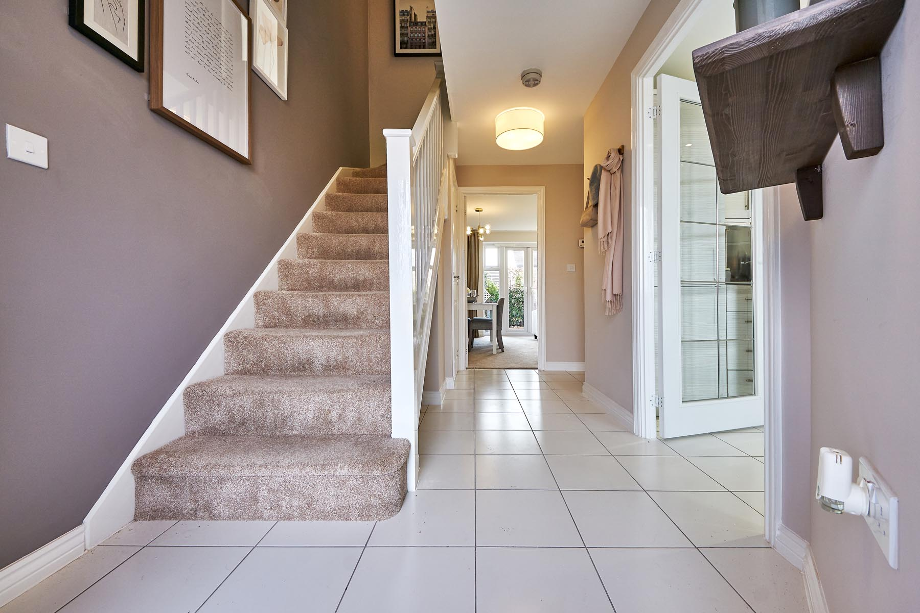 TW Exeter - Buckingham Heights - Flatford example hallway
