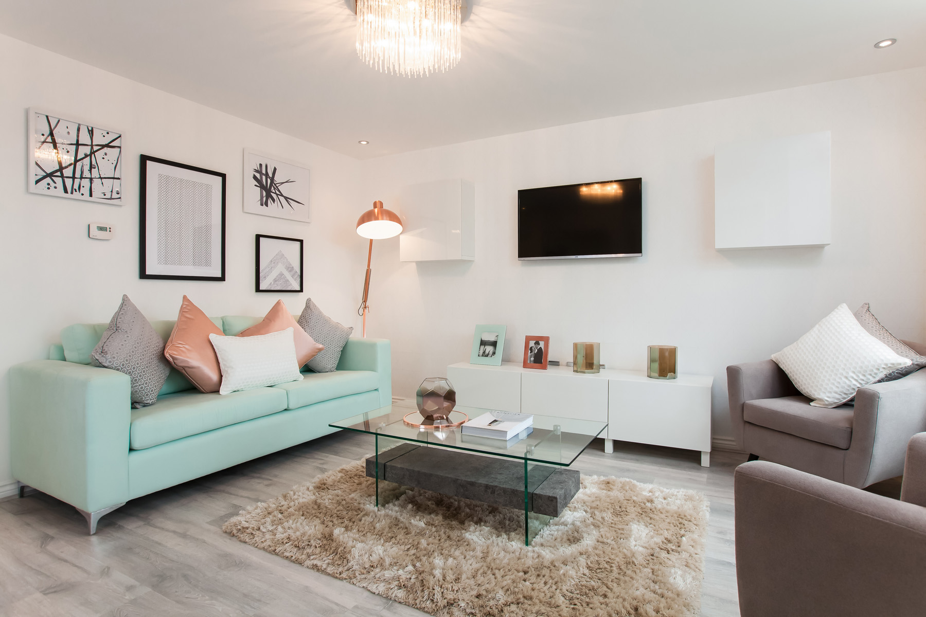 TW Exeter - Buckingham Heights - Gosford example living room