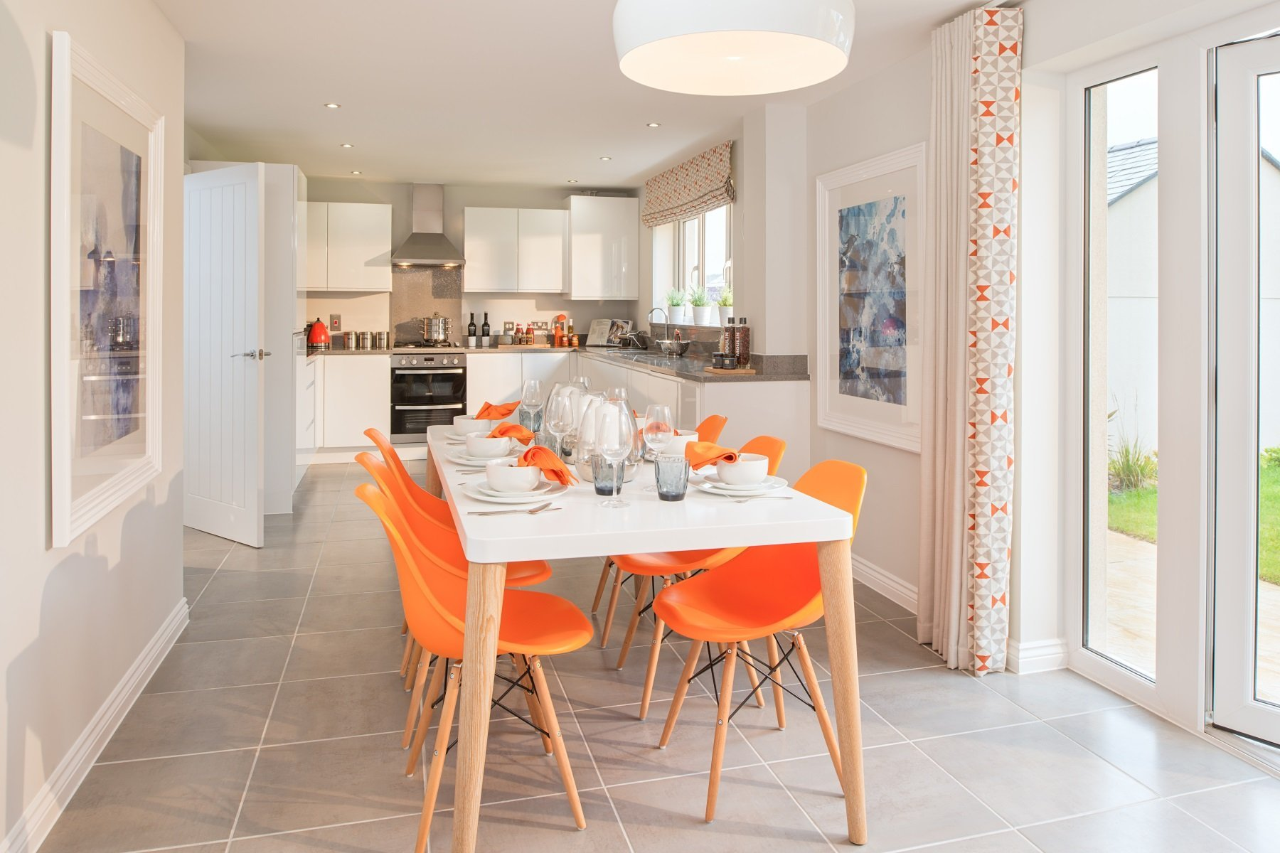 Taylor Wimpey Exeter - Chy An Dowr - Shelford example kitchen 2