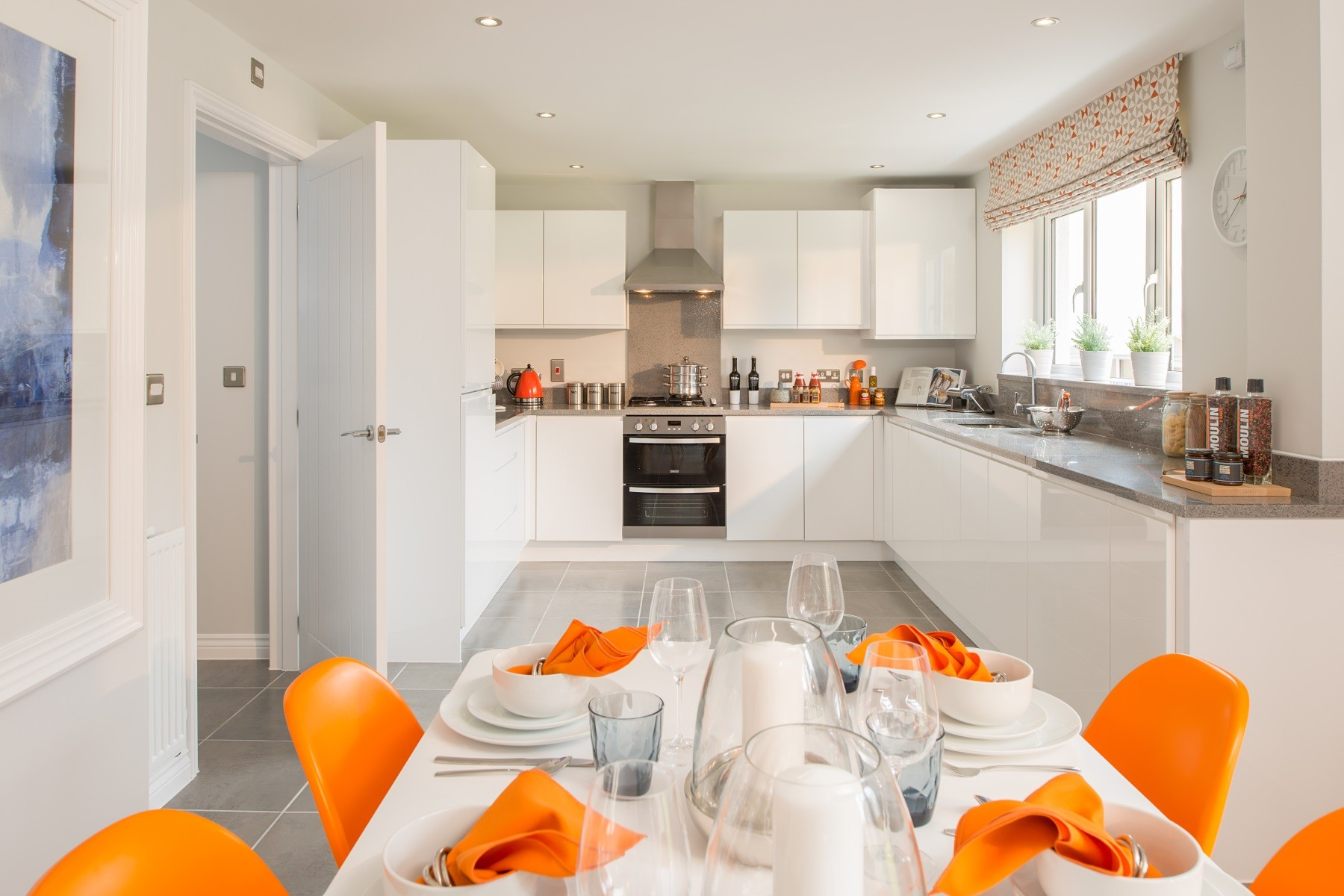 Taylor Wimpey Exeter - Chy An Dowr - Shelford example kitchen