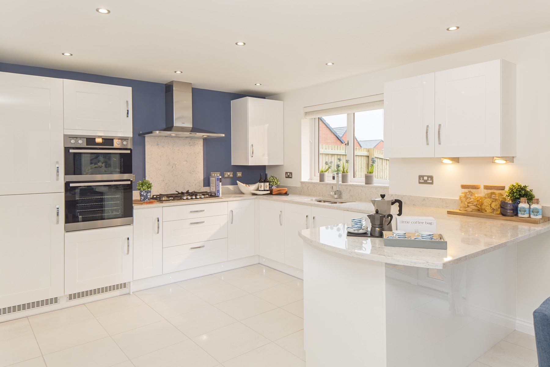 TW Exeter - Chy An Dowr - Wareham example kitchen