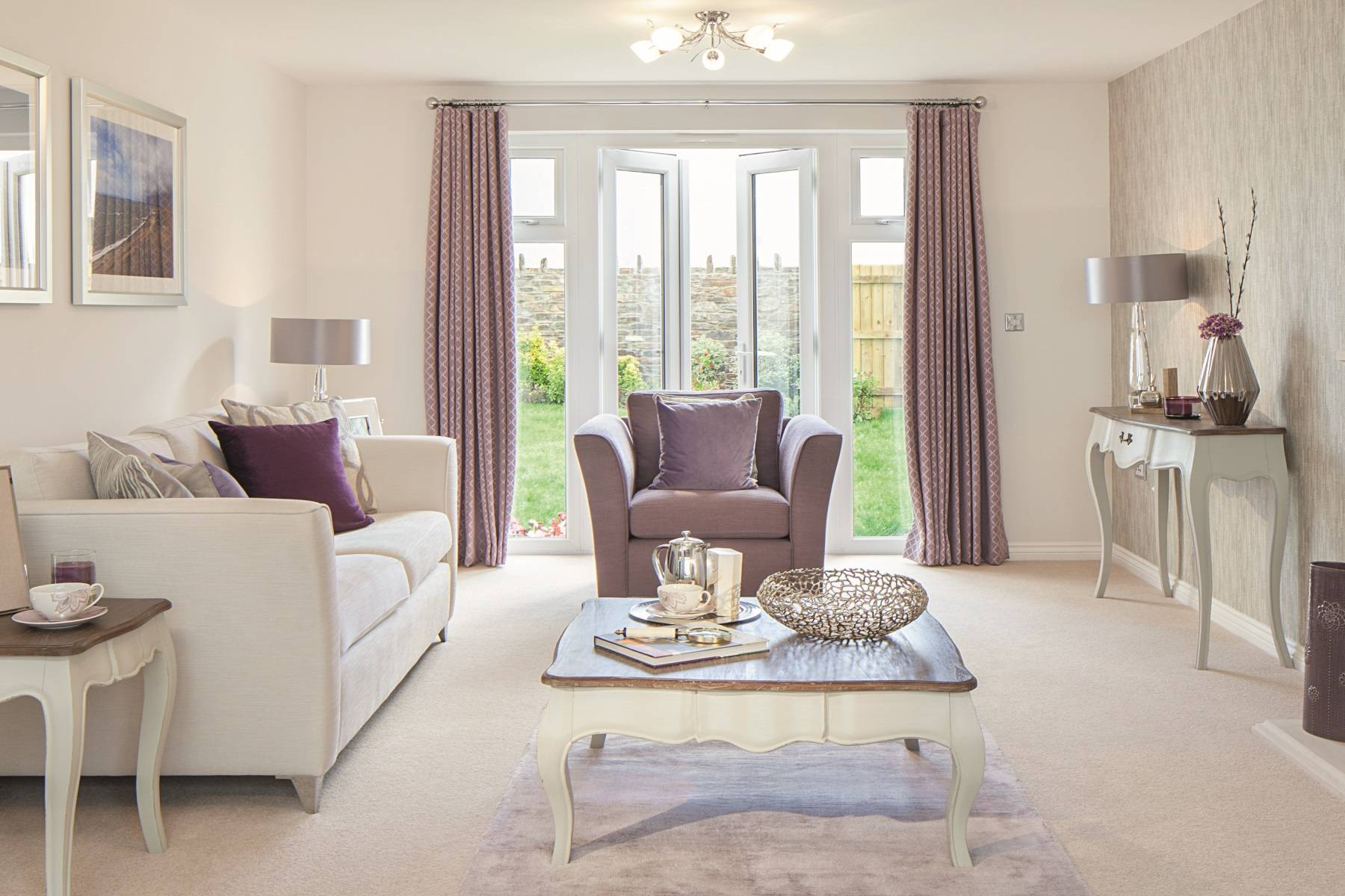 TW Exeter - Copleston Heights - Bawden example living room