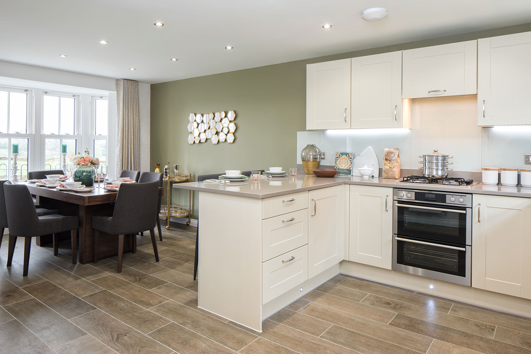 TW Exeter - Copleston Heights - Eskdale example kitchen