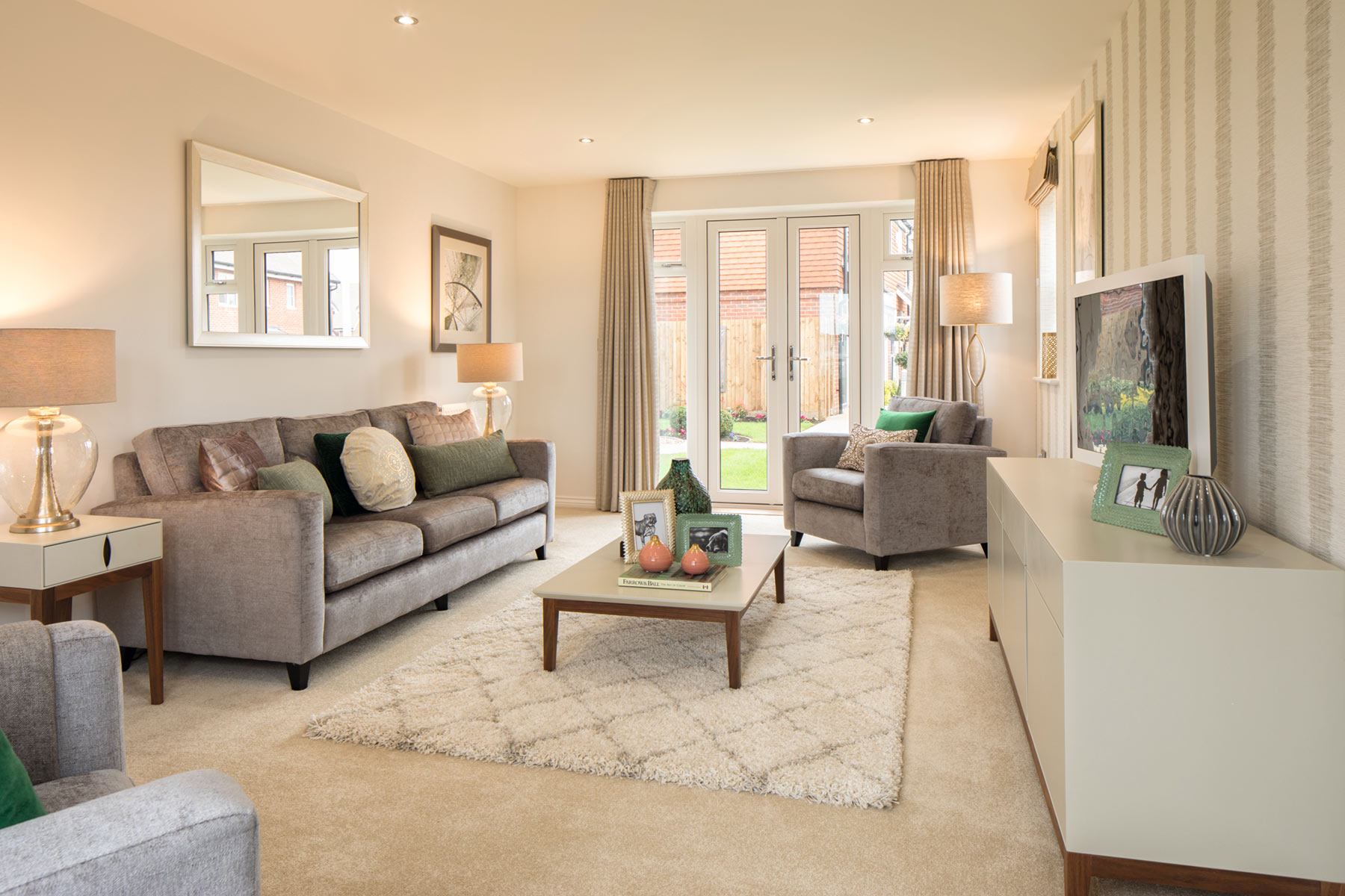 TW Exeter - Copleston Heights - Eskdale example living room