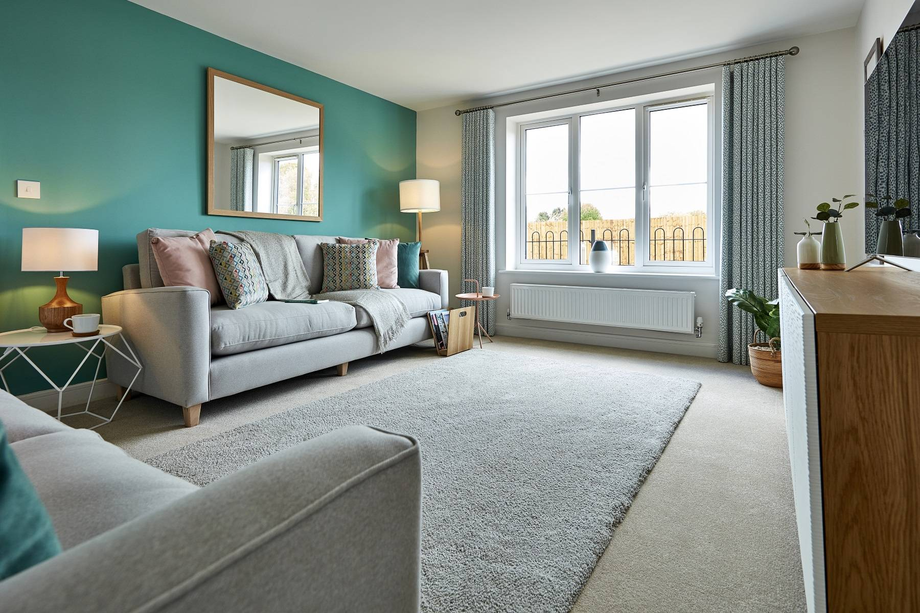 TW Exeter - Copleston Heights - Midford example living room