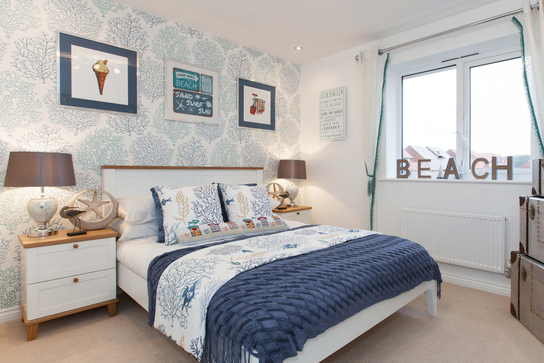 TW Exeter - Cornflowers at Cranbrook - Thornford example bedroom 3