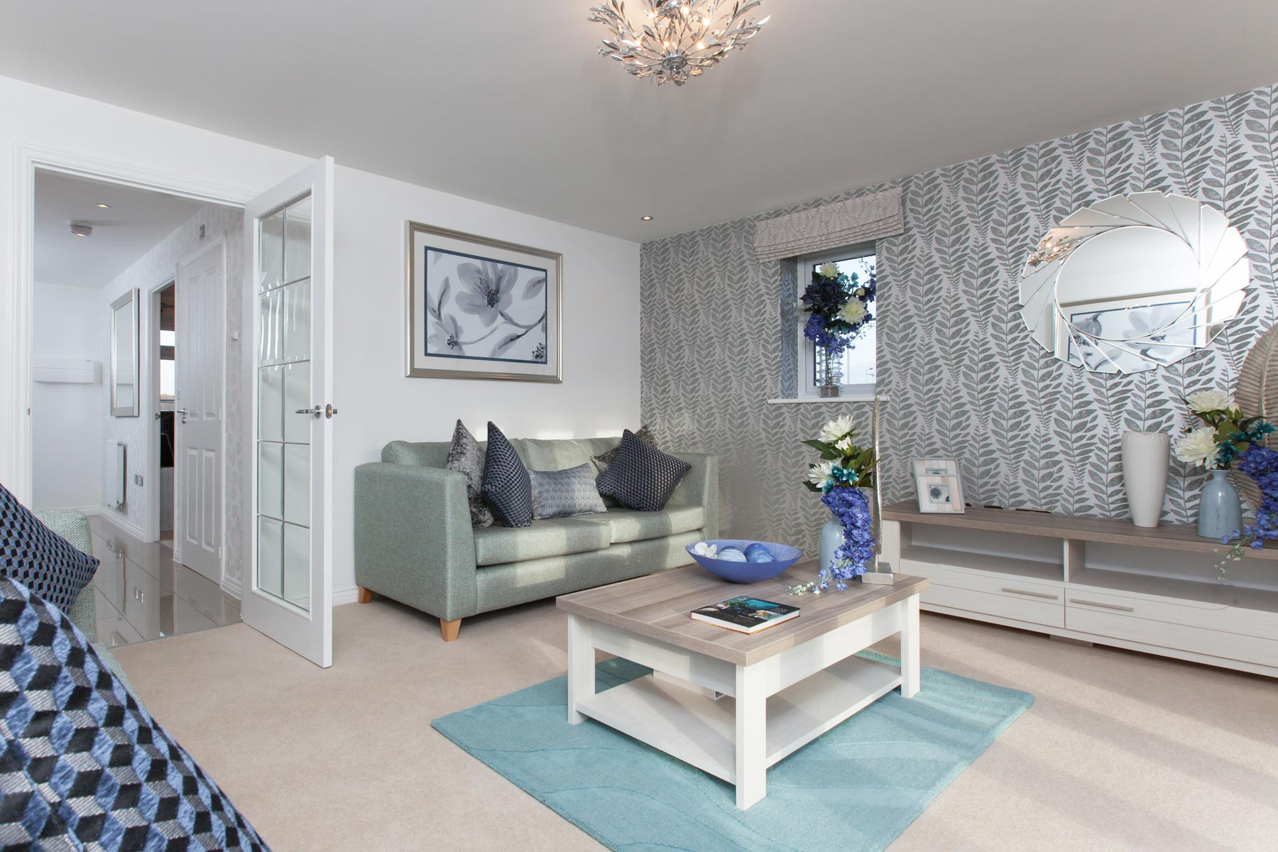 TW Exeter - Cornflowers at Cranbrook - Thornford example living room 2