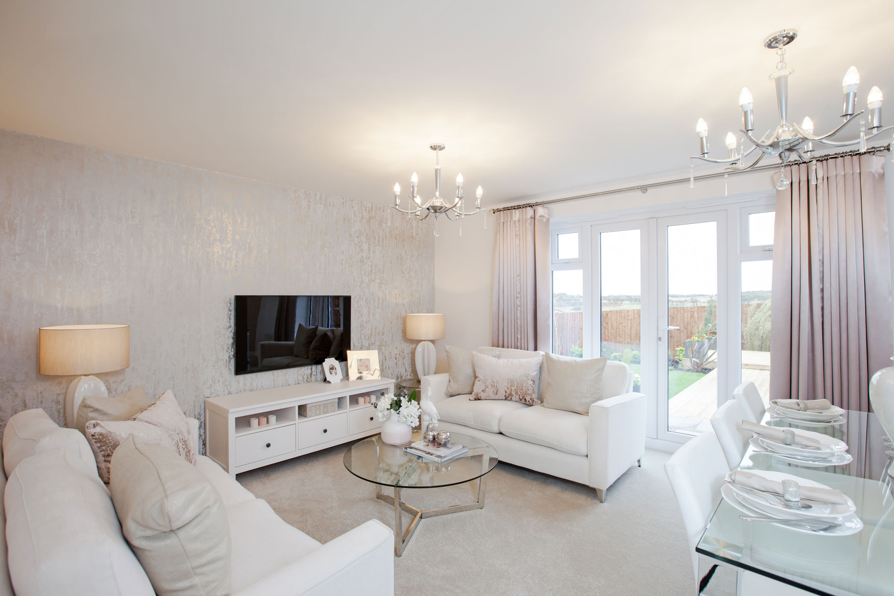 TW Exeter - Cranbrook - Crofton example living room