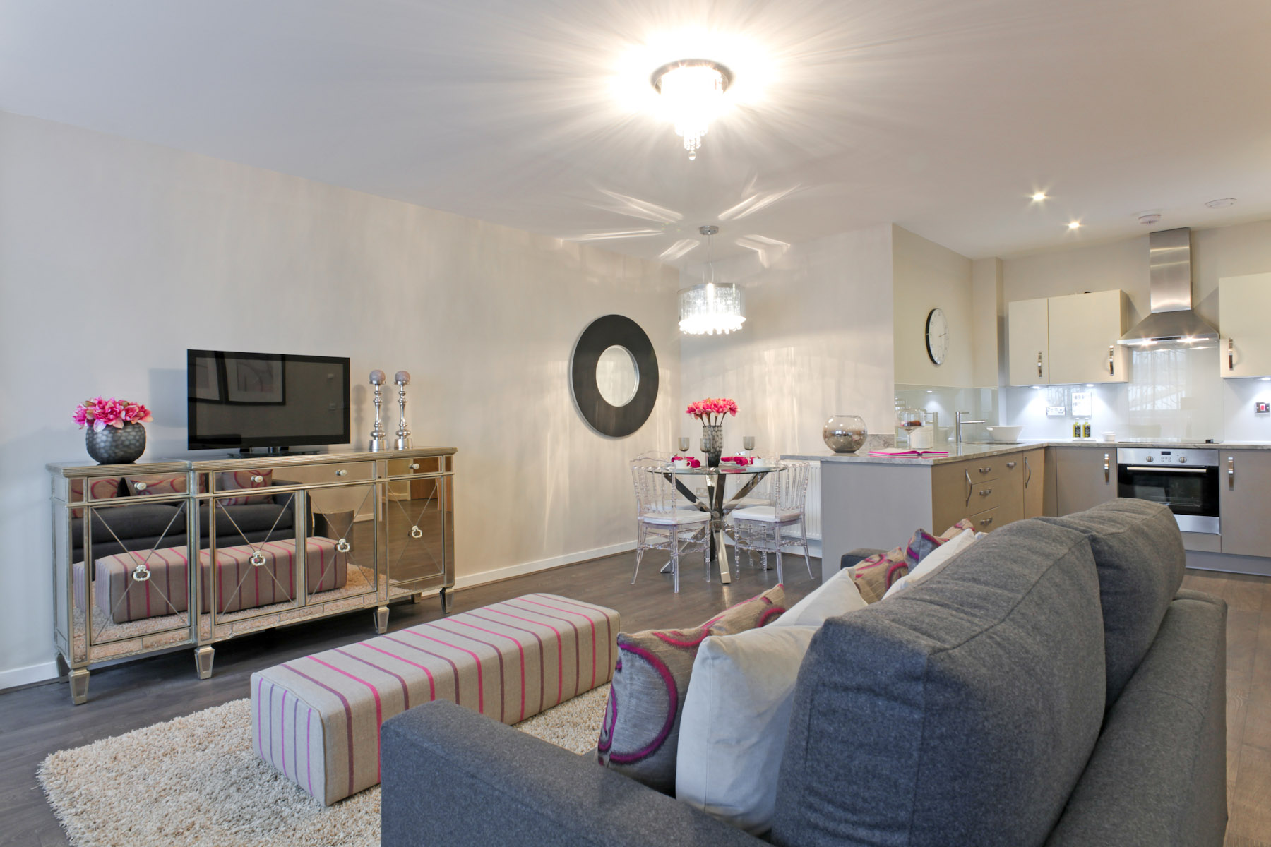 TW Exeter - Cranbrook - Farndale example living area
