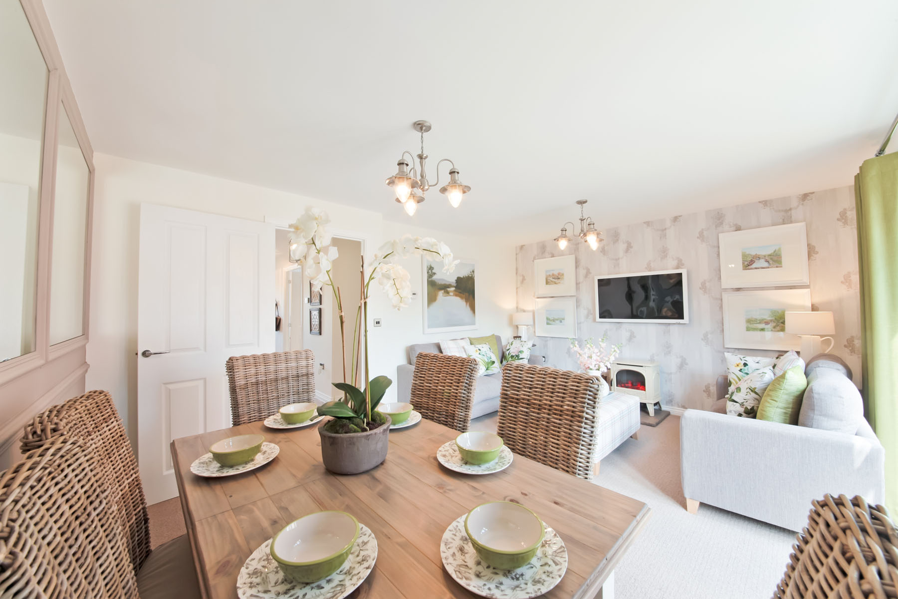 TW Exeter - Cranbrook - Harton example living room