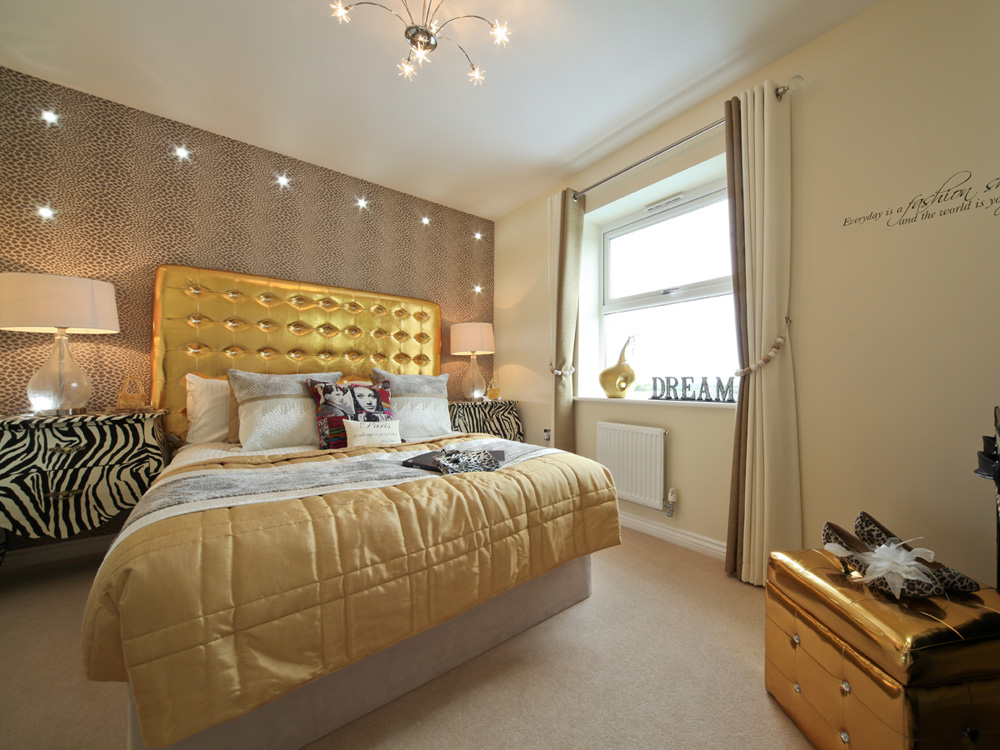 TW Exeter - Cranbrook - Kennilworth example bedroom 3