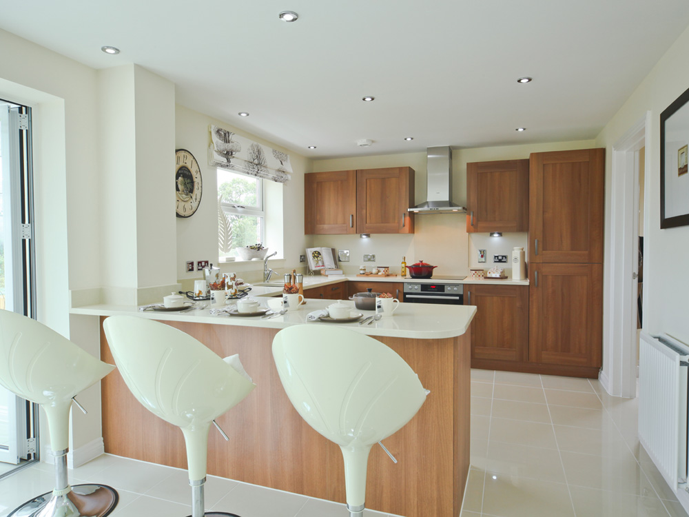 TW Exeter - Cranbrook - Kennilworth example kitchen