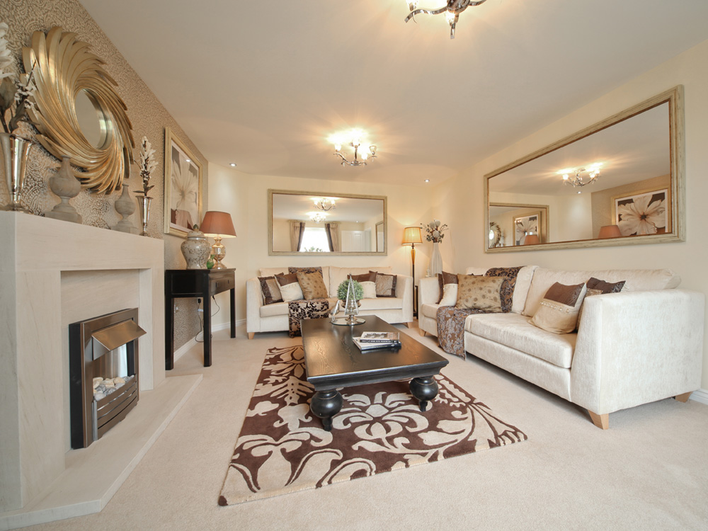 TW Exeter - Cranbrook - Kennilworth example living room