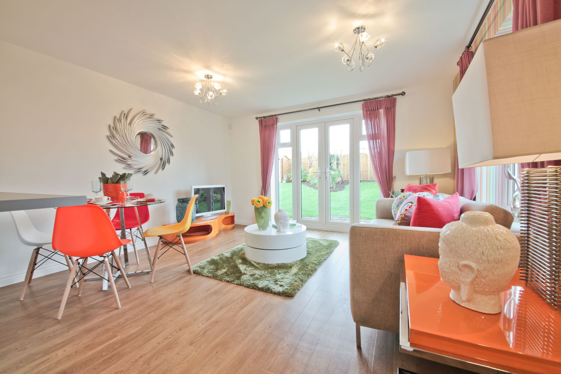 TW Exeter - Cranbrook - Beckford example living room