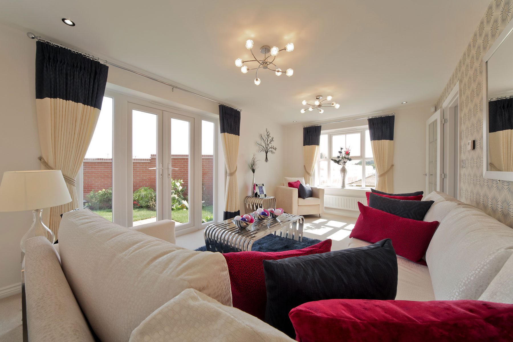 Taylor Wimpey Exeter - Cranbrook - Easdale example living room 2
