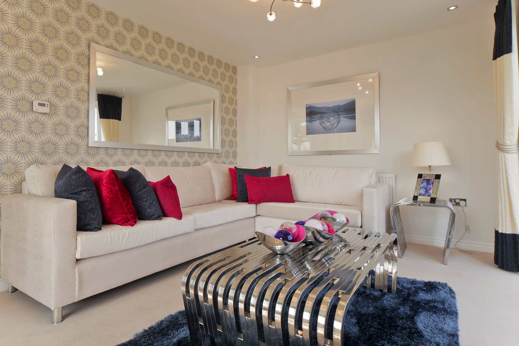 Taylor Wimpey Exeter - Cranbrook - Easdale example living room 3