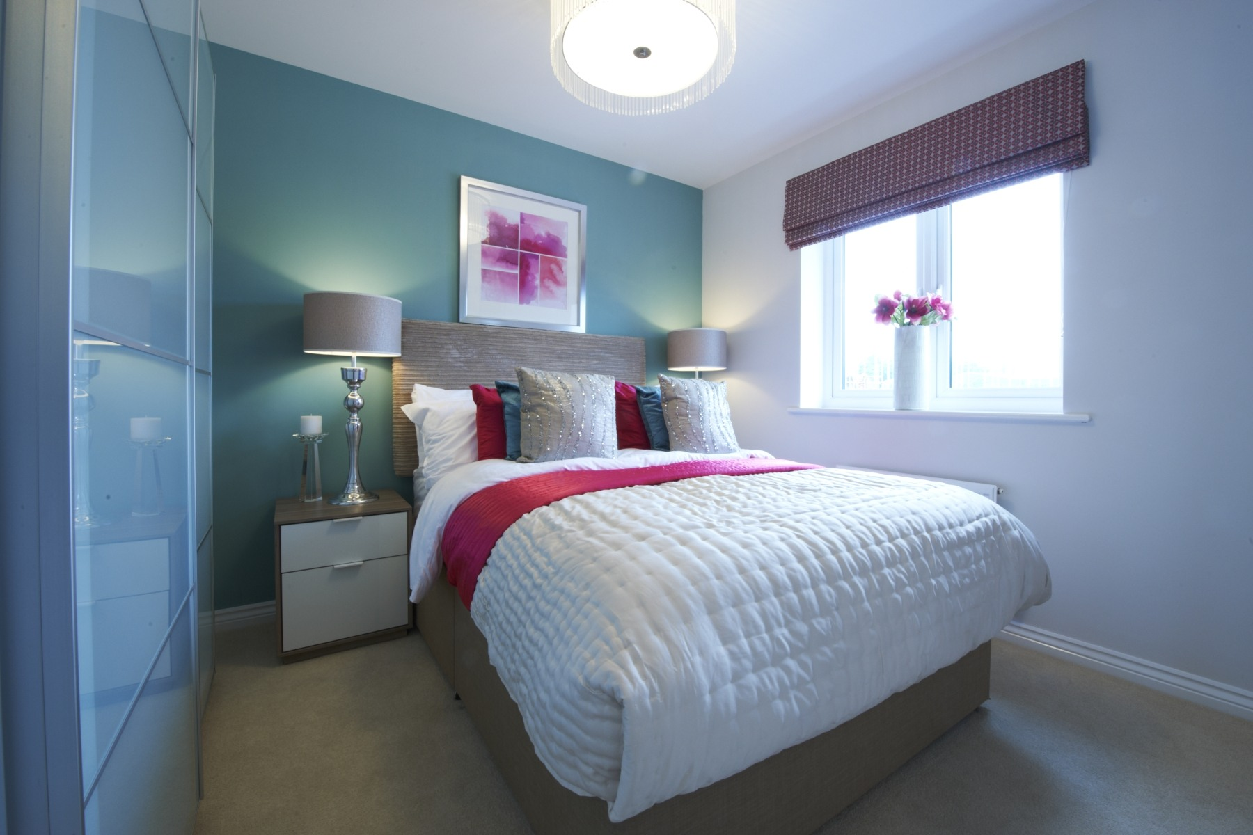 Taylor Wimpey Exeter - Cranbrook - Easdale example bedroom 2